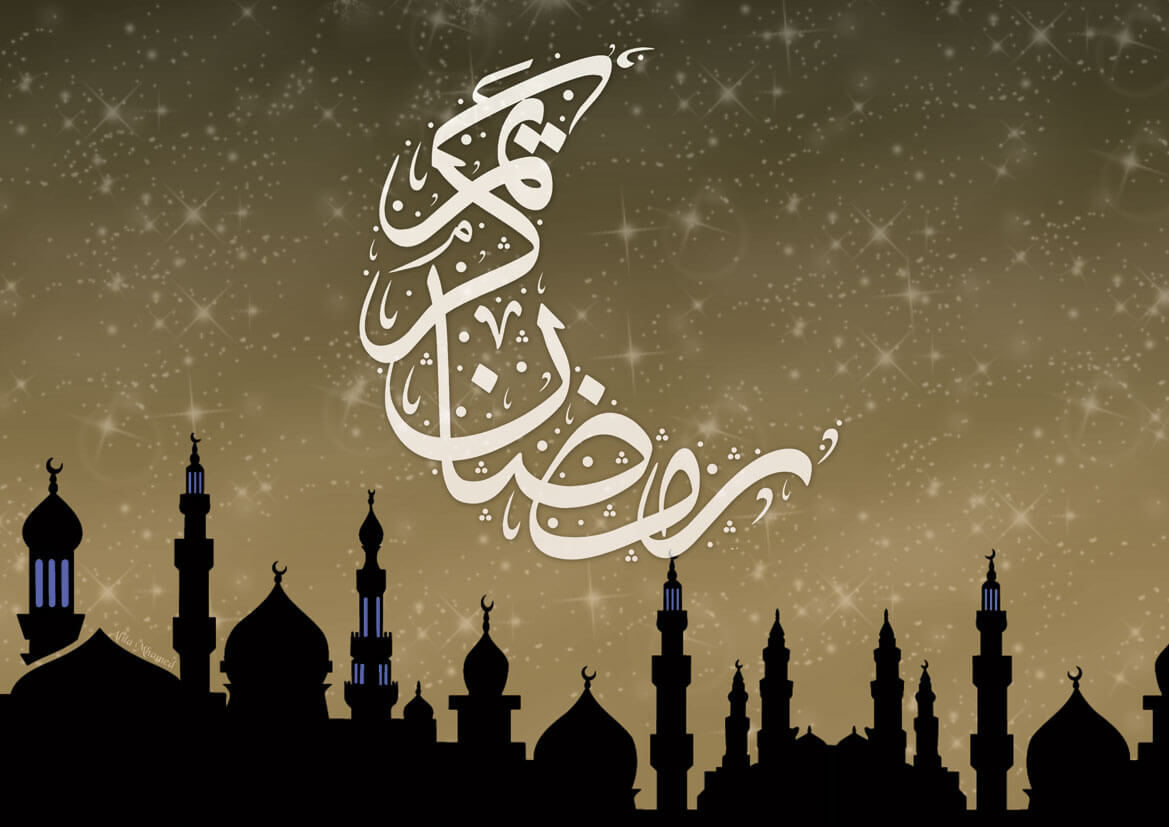 Анимация поздравление, открытки для мусульманки