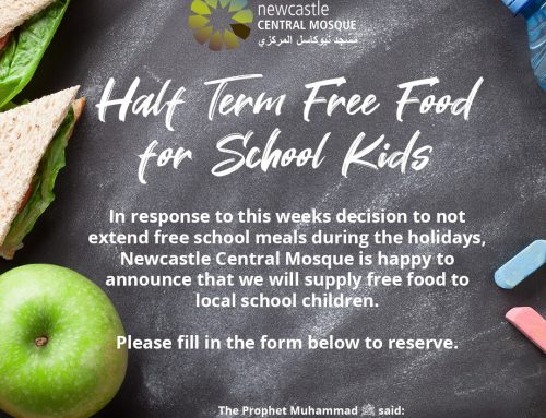 HALF TERM FREE FOOD FOR SCHOOL KIDS